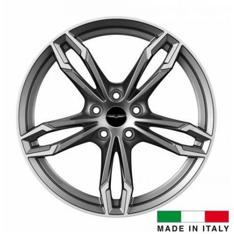 4 jantes Italian Wheels DAZIO Gunmetal18 pouces
