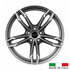4 jantes Italian Wheels DAZIO Matt Gun 19 pouces