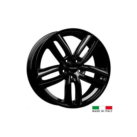 4 jantes Italian Wheels DERVIO Black 18 pouces