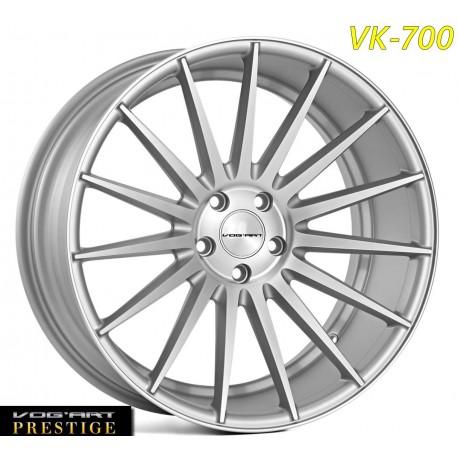 4 Jantes Vog'art Prestige - VK700 - 20' - Silver