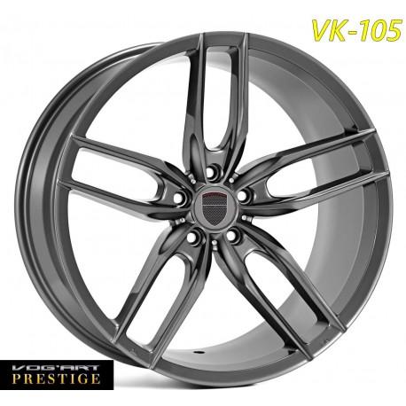 4 Jantes Vog'art Prestige - VK105 - 20' - Graphite