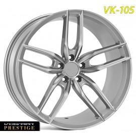 """4 Jantes Vog'art Prestige - VK105 - 19"""" - Silver"""