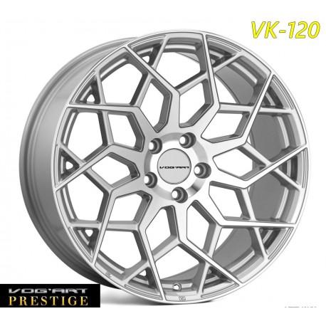 """4 Jantes Vog'art Prestige - VK120 - 20"""" - Silver"""