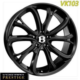 """4 Jantes Vog'art Prestige - VK103 - 21"""" - Black"""