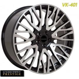"4 Jantes Vog'art Prestige - VK401 - 22"" - Black poli"