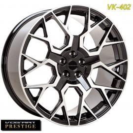 "4 Jantes Vog'art Prestige VK402 - 22"" - Black Poli"