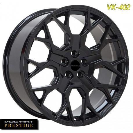 """4 Jantes Vog'art Prestige VK402 - 22"""" - Black"""