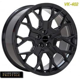 """4 Jantes Vog'art Prestige VK402 - 23"""" - Black"""