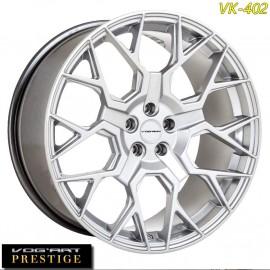 """4 Jantes Vog'art Prestige VK402 - 23"""" - Silver"""