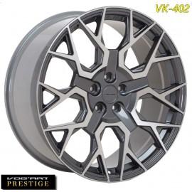 "4 Jantes Vog'art Prestige VK402 - 23"" - Anthracite Poli"