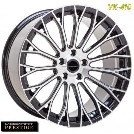 "4 Jantes Vog'art Prestige VK410 - 20"" - Black Poli"
