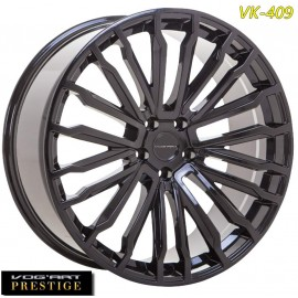 "4 Jantes Vog'art Prestige VK409 - 22"" - Black Poli"