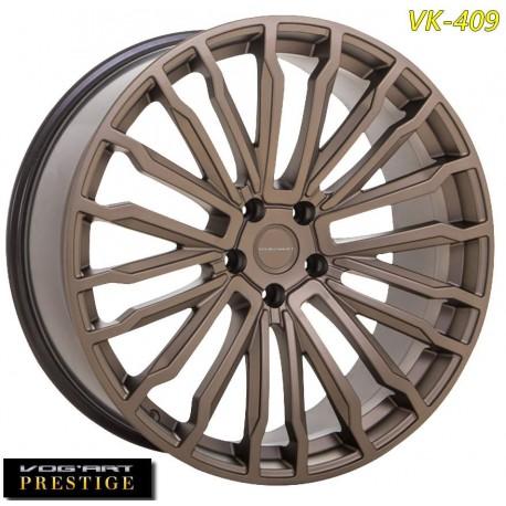 """4 Jantes Vog'art Prestige VK409 - 22"""" - Black"""