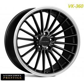 """4 Jantes Vog'art Prestige VK360 - 19"""" - Black"""