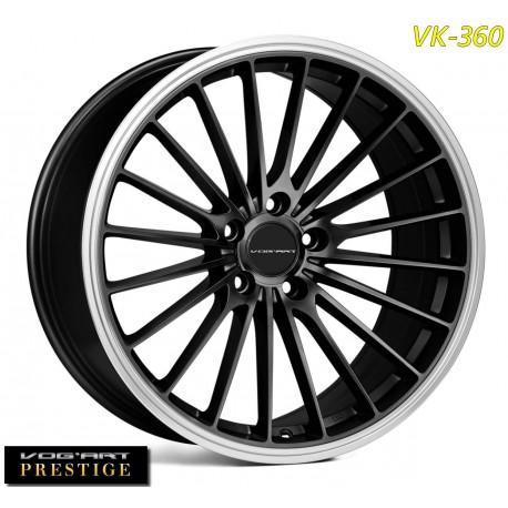 4 Jantes Vog'art Prestige VK360 - 19 - Anthracite