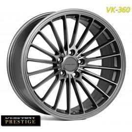 """4 Jantes Vog'art Prestige VK360 - 19"""" - Anthracite"""