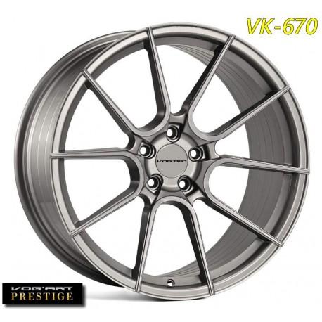 """4 Jantes Vog'art Prestige VK670 - 19"""" - Black"""