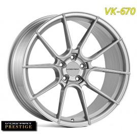 """4 Jantes Vog'art Prestige VK670 - 19"""" - Silver"""