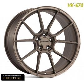 "4 Jantes Vog'art Prestige VK670 - 19"" - Bronze"