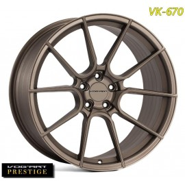 "4 Jantes Vog'art Prestige VK670 - 20"" - Bronze"