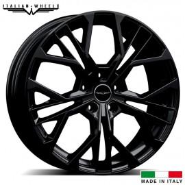 "4 Jantes ITALIAN WHEELS MALFA - 17"" - Black"