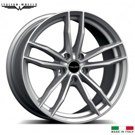 "4 Jantes ITALIAN WHEELS VERONA - 17"" - Black"