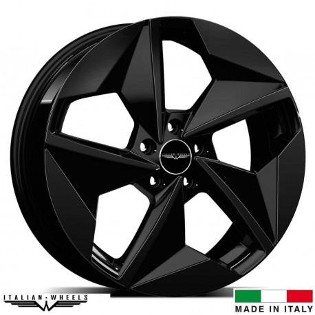 "4 Jantes ELMO - Italian wheels - 19"" - Noir"