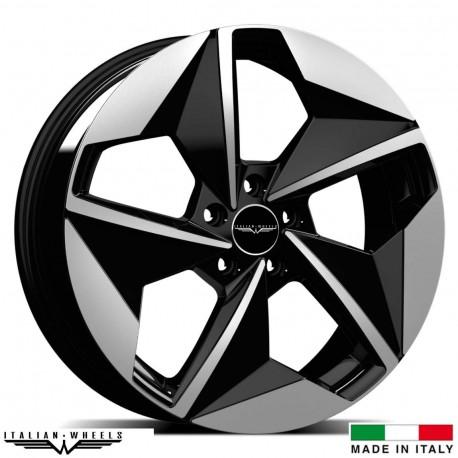 "4 Jantes ELMO - Italian wheels - 20"" - Noir"