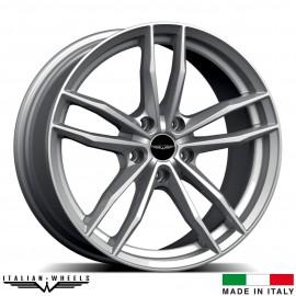 "4 Jantes SOLTO - Italian wheels - 18"" - Argent"