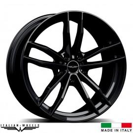 "4 Jantes SOLTO - Italian wheels - 19"" - Noir"