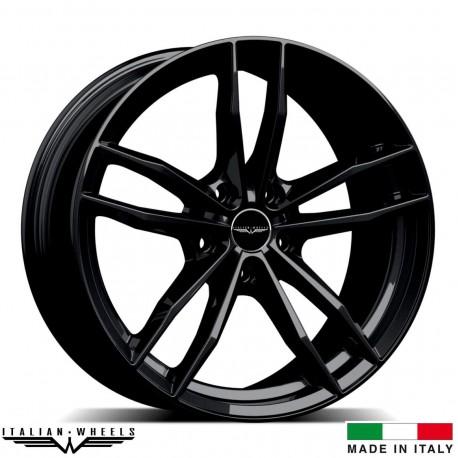 "4 Jantes SOLTO - Italian wheels - 20"" - Noir"