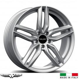 "4 Jantes FIRENZE - Italian wheels - 19"" - Argent"