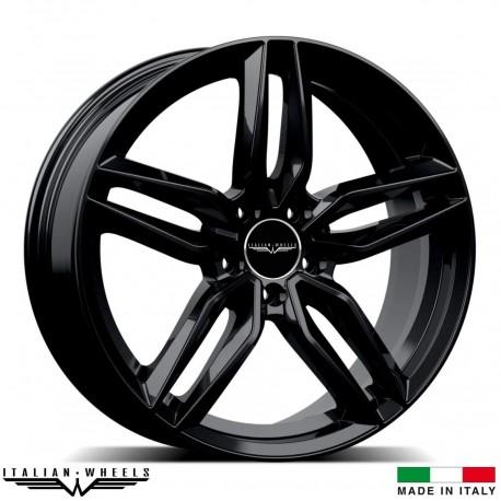 "4 Jantes FIRENZE - Italian wheels - 20"" - Noir"