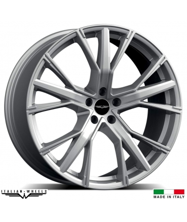 "4 Jantes GALLIANA - Italian wheels - 19"" - Argent"