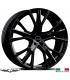 "4 Jantes GALLIANA - Italian wheels - 19"" - Noir"
