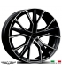 "4 Jantes GALLIANA - Italian wheels - 19"" - Noir poli"