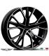 "4 Jantes GALLIANA - Italian wheels - 21"" - Noir poli"