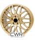 """4 Jantes alu CW250 - 18"""" - Gold"""