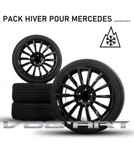 Pack jantes et pneus HIVER 2021 pour Mercedes classe A....